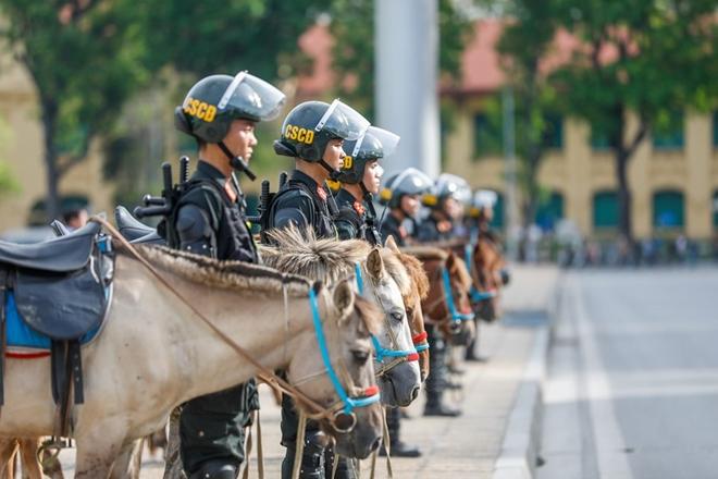 Chùm ảnh bộ Công an ra mắt lực lượng Cảnh sát cơ động Kỵ binh - Ảnh 9