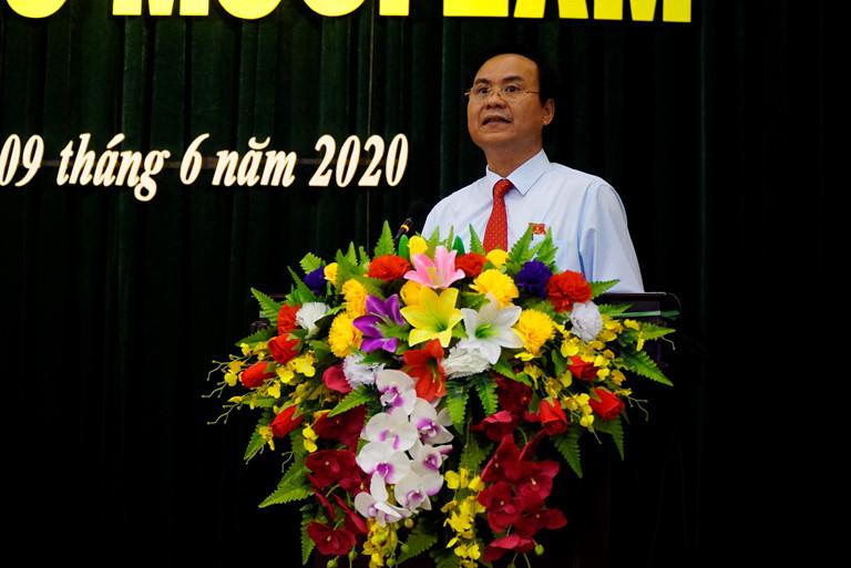Chân dung tân Chủ tịch UBND tỉnh Quảng Trị Võ Văn Hưng - Ảnh 1