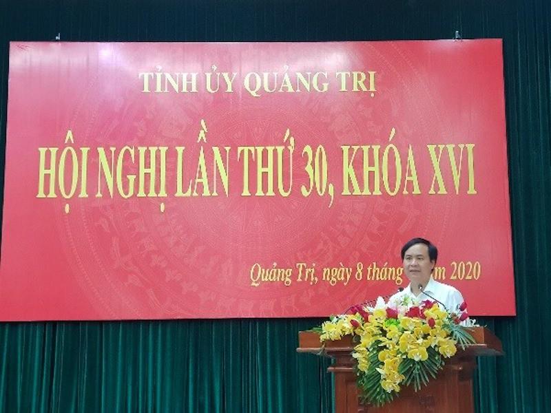 Bí thư Thành ủy Đông Hà giữ chức Phó Bí thư Tỉnh ủy Quảng Trị - Ảnh 1