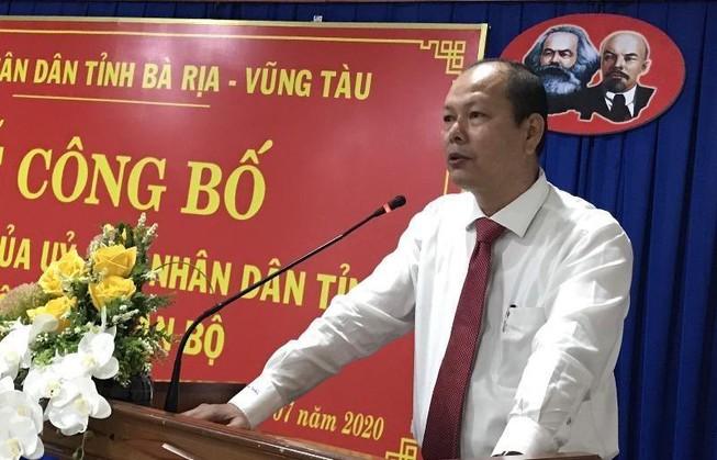 Chánh Thanh tra tỉnh Bà Rịa- Vũng Tàu Nguyễn Văn Hải được bổ nhiệm làm Giám đốc sở TN&MT - Ảnh 1