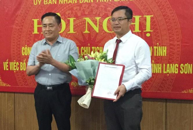 Ông Dương Công Vĩ được bổ nhiệm giữ chức Giám đốc sở GTVT tỉnh Lạng Sơn - Ảnh 1