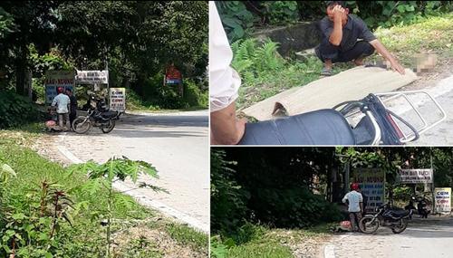 Thực hư vụ cụ ông 80 tuổi tử vong bị tài xế bỏ lại giữa đường, con trai buộc thi thể lên xe máy chở về - Ảnh 1