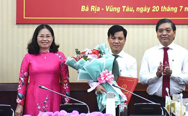 Bổ nhiệm ông Phan Khắc Duy giữ chức Chánh văn phòng UBND tỉnh Bà Rịa-Vũng Tàu - Ảnh 1