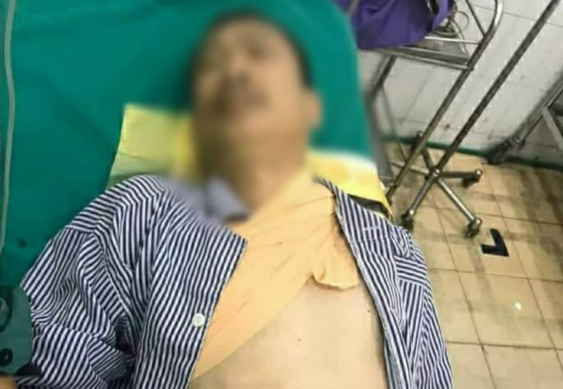 Vụ nghịch tử 17 tuổi chém vào cổ bố đẻ: Nghi phạm chém bố đẻ trong lúc mang án treo - Ảnh 1