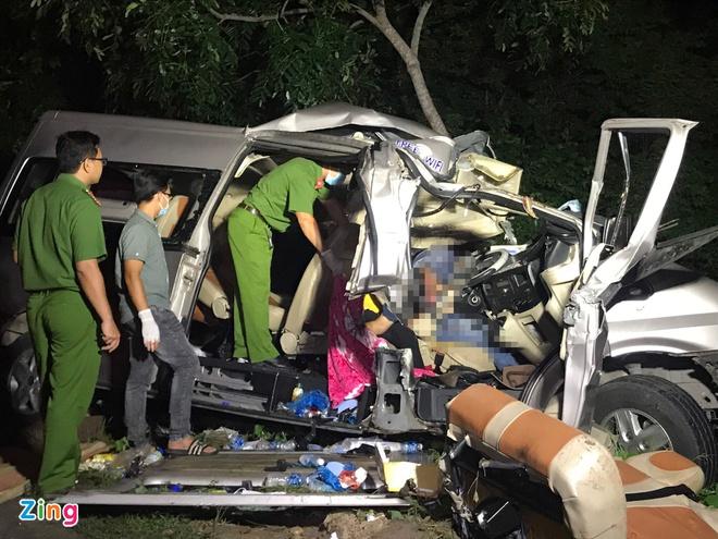 Vụ tai nạn thảm khốc 8 người chết ở Bình Thuận: Hé lộ nguyên nhân ban đầu - Ảnh 1