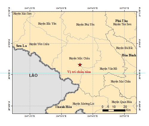 Động đất mạnh 5,3 độ richter ở Sơn La, Hà Nội bị rung lắc nhẹ - Ảnh 1
