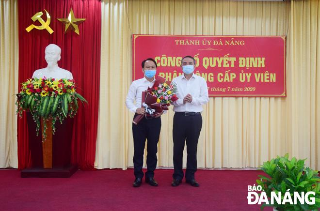 Ông Nguyễn Đình Vĩnh giữ chức Phó trưởng Ban Tuyên giáo Thành ủy Đà Nẵng - Ảnh 1