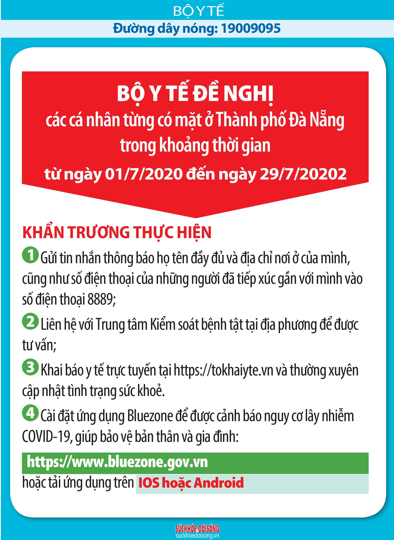 Những ai đến Đà Nẵng từ ngày 1-29/7 cần khai báo y tế - Ảnh 1