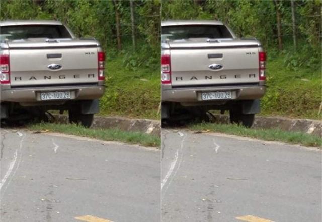 Công an khẳng định Trưởng phòng TN&MT huyện gây tai nạn chết người - Ảnh 1