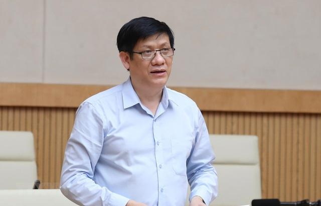 Thủ tướng bổ nhiệm ông Nguyễn Thanh Long giữ chức quyền Bộ trưởng bộ Y tế - Ảnh 1