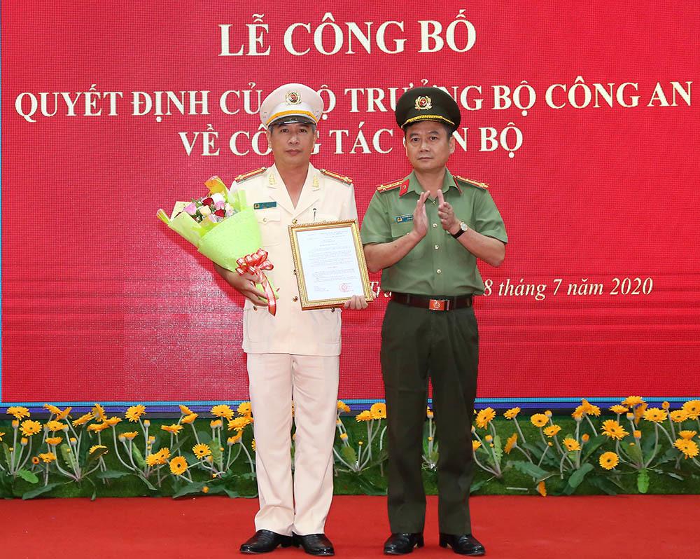 Thượng tá Huỳnh Hoài Hận giữ chức vụ Phó Giám đốc Công an tỉnh Sóc Trăng - Ảnh 1