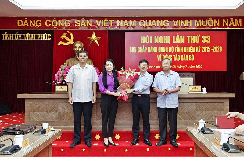 Ông Lê Duy Thành được bầu giữ chức Phó Bí thư Tỉnh ủy Vĩnh Phúc - Ảnh 1
