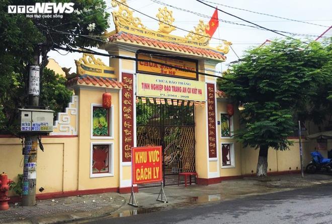 5 ca nhiễm Covid-19 mới ở Quảng Nam: 3 người là sư cô, 1 người vừa lo đám tang cho mẹ - Ảnh 1