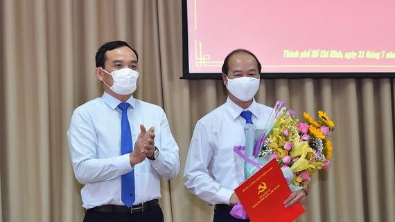 Từ 1/8, ông Nguyễn Quyết Thắng làm Bí thư Huyện ủy Củ Chi - Ảnh 1