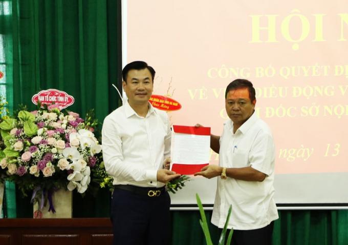 Tân Giám đốc sở Nội vụ tỉnh Hà Nam vừa được bổ nhiệm là ai? - Ảnh 1