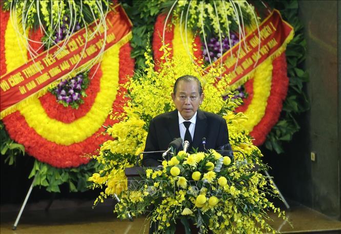 Lễ truy điệu nguyên Tổng Bí thư Lê Khả Phiêu - Ảnh 3