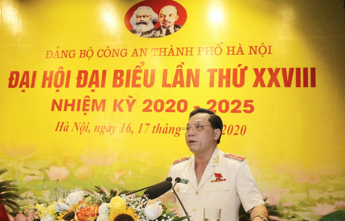 Thiếu tướng Nguyễn Hải Trung được bầu giữ chức Bí thư Đảng ủy Công an TP.Hà Nội - Ảnh 1