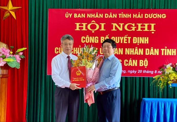 Tân Phó Giám đốc sở GTVT tỉnh Hải Dương vừa được bổ nhiệm là ai? - Ảnh 1