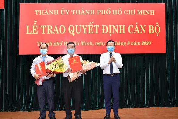 TP.HCM: Ông Lê Đức Thanh được bầu giữ chức Chủ tịch UBND quận 2 - Ảnh 1