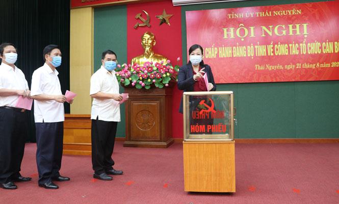 Phó Chủ tịch UBND tỉnh Thái Nguyên Trịnh Việt Hùng được bầu giữ chức Phó Bí thư Tỉnh ủy - Ảnh 1