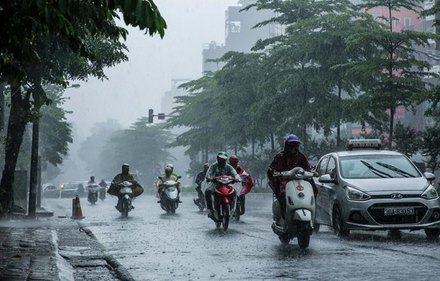 Tin tức dự báo thời tiết mới nhất hôm nay 30/8/2020: Hà Nội chiều tối có mưa dông - Ảnh 1