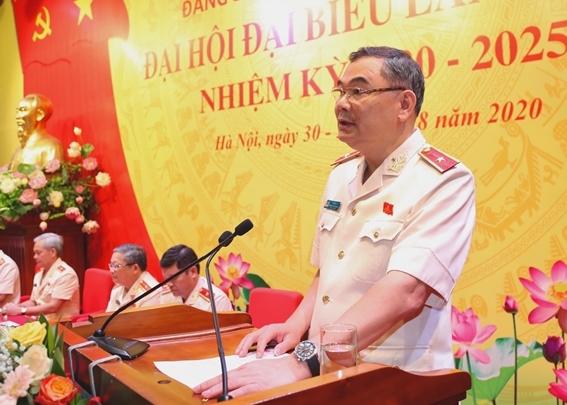 Thiếu tướng Tô Ân Xô được bầu giữ chức Bí thư Đảng ủy Văn phòng Bộ Công an - Ảnh 5