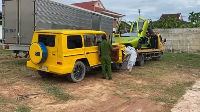 """Vì sao 2 """"siêu xe"""" Lamborghini, Merceders bị tạm giữ ở Quảng Bình? - Ảnh 2"""