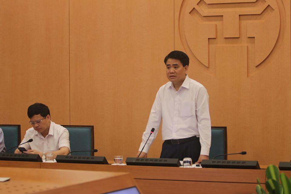 Chủ tịch Nguyễn Đức Chung: Có thể xuất hiện nhiều ca mắc Covid-19 trong thời gian tới - Ảnh 1