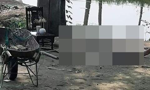 Vụ nam thanh niên chết trong tư thế nằm ngửa: Người cha ra đầu thú, khai nguyên nhân sát hại con - Ảnh 1