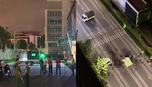 Vụ 2 thi thể không nguyên vẹn dưới chân tòa chung cư ở Hà Nội: Mảnh giấy ở hiện trường viết gì? - Ảnh 1