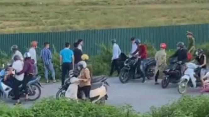 Chiến sĩ Cảnh sát cơ động Bắc Giang bị xe bán tải tông tử vong khi đang làm nhiệm vụ - Ảnh 1