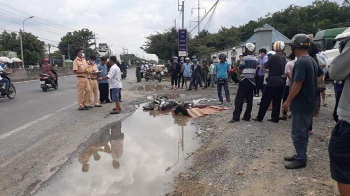 Tin tai nạn giao thông mới nhất ngày 16/9/2020: Ô tô va chạm xe máy, 3 cô gái trẻ tử vong ở Phú Thọ - Ảnh 3