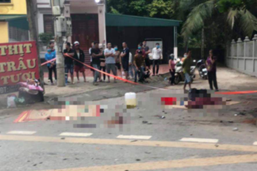 Vụ ô tô đâm xe máy, 3 cô gái trẻ tử vong ở Phú Thọ: Danh tính nạn nhân - Ảnh 1