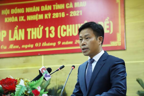 Ông Lê Quân được bầu giữ chức Chủ tịch UBND tỉnh Cà Mau - Ảnh 1
