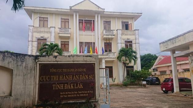 Nguyên nhân Cục trưởng Cục thi hành án dân sự tỉnh Đắk Lắk bị kỷ luật cảnh cáo - Ảnh 1