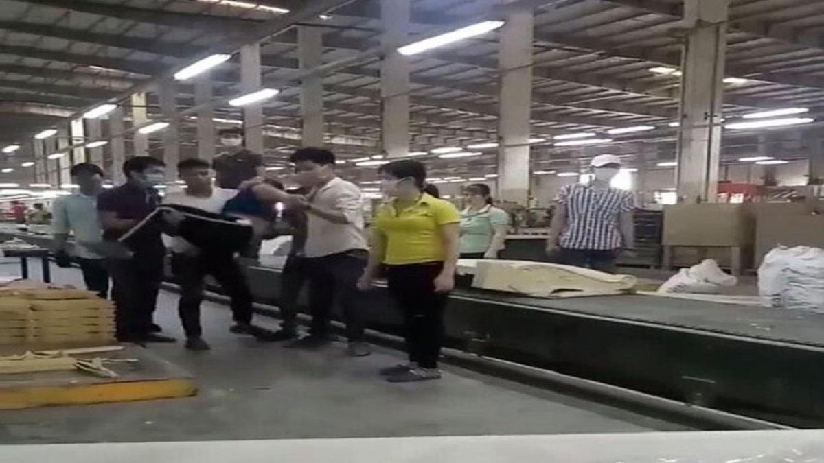 Vụ clip nữ công nhân bị đồng nghiệp đánh ngất xỉu ở Đồng Nai: Nguyên nhân bất ngờ - Ảnh 1