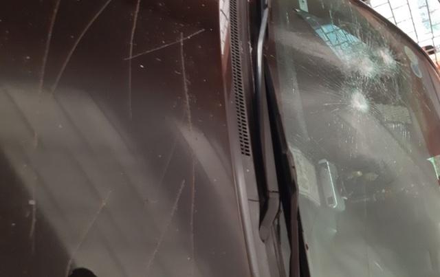 Điều tra vụ xe ô tô của Chủ tịch UBND huyện Thường Xuân bị đập phá - Ảnh 1