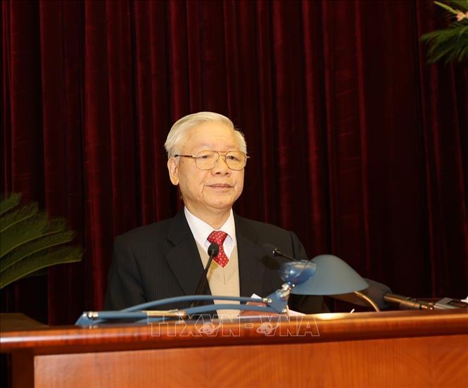 Khai mạc trọng thể Hội nghị lần thứ 15 Ban Chấp hành Trung ương Đảng khóa XII - Ảnh 1