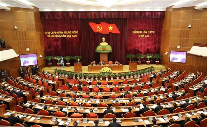 Khai mạc trọng thể Hội nghị lần thứ 15 Ban Chấp hành Trung ương Đảng khóa XII - Ảnh 2