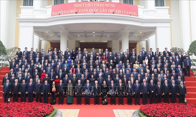 Khai mạc trọng thể Hội nghị lần thứ 15 Ban Chấp hành Trung ương Đảng khóa XII - Ảnh 3