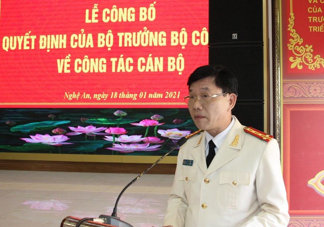 Tân Phó Giám đốc Công an tỉnh Nghệ An vừa được bổ nhiệm là ai? - Ảnh 2