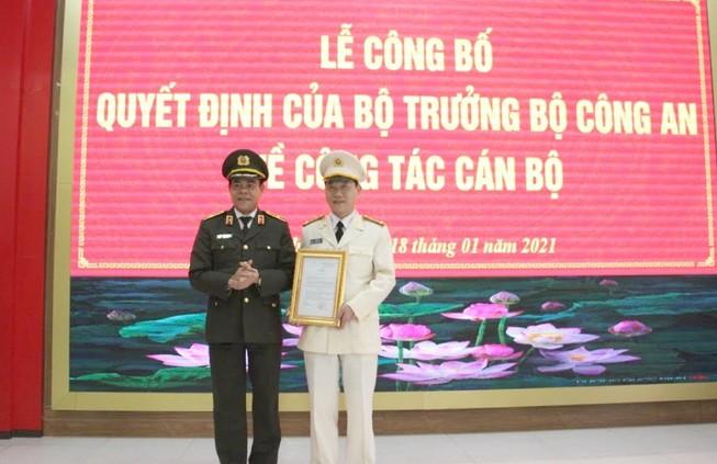 Tân Phó Giám đốc Công an tỉnh Nghệ An vừa được bổ nhiệm là ai? - Ảnh 1