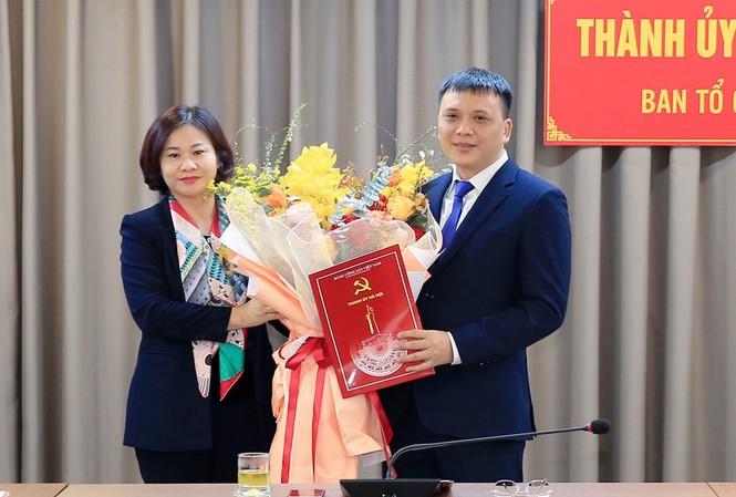 Tân Phó Ban Tổ chức Thành ủy Hà Nội là ai? - Ảnh 1