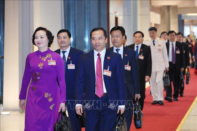Khai mạc trọng thể Đại hội đại biểu toàn quốc lần thứ XIII Đảng Cộng sản Việt Nam - Ảnh 2