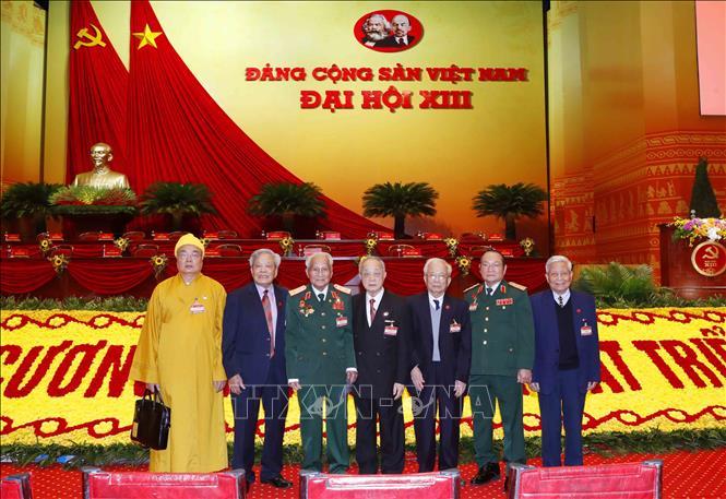 Khai mạc trọng thể Đại hội đại biểu toàn quốc lần thứ XIII Đảng Cộng sản Việt Nam - Ảnh 3