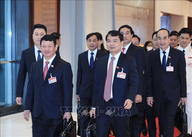 Khai mạc trọng thể Đại hội đại biểu toàn quốc lần thứ XIII Đảng Cộng sản Việt Nam - Ảnh 4