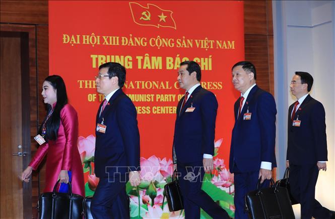 Khai mạc trọng thể Đại hội đại biểu toàn quốc lần thứ XIII Đảng Cộng sản Việt Nam - Ảnh 5