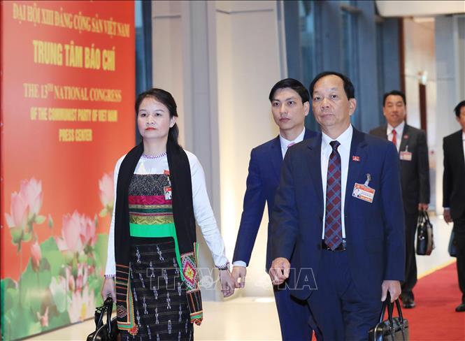 Khai mạc trọng thể Đại hội đại biểu toàn quốc lần thứ XIII Đảng Cộng sản Việt Nam - Ảnh 6
