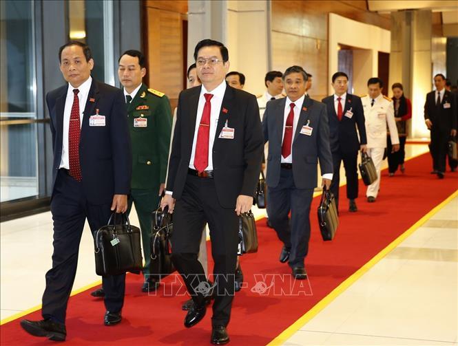 Khai mạc trọng thể Đại hội đại biểu toàn quốc lần thứ XIII Đảng Cộng sản Việt Nam - Ảnh 7