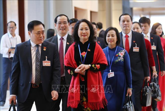Khai mạc trọng thể Đại hội đại biểu toàn quốc lần thứ XIII Đảng Cộng sản Việt Nam - Ảnh 8